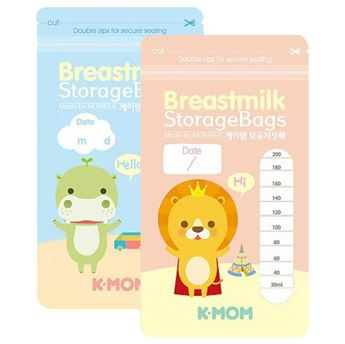 Hình ảnh củaTúi Trữ Sữa K-Mom (hộp 20 túi)