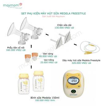 Hình ảnh củaPhụ Kiện Máy Hút Sữa FreeStyle (SX bởi Maymom)