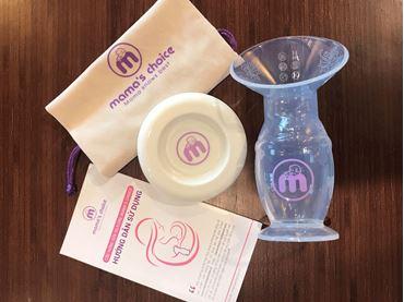 Thư mục hình ảnh Cốc Hứng & Hút Sữa Silicone Mama's Choice